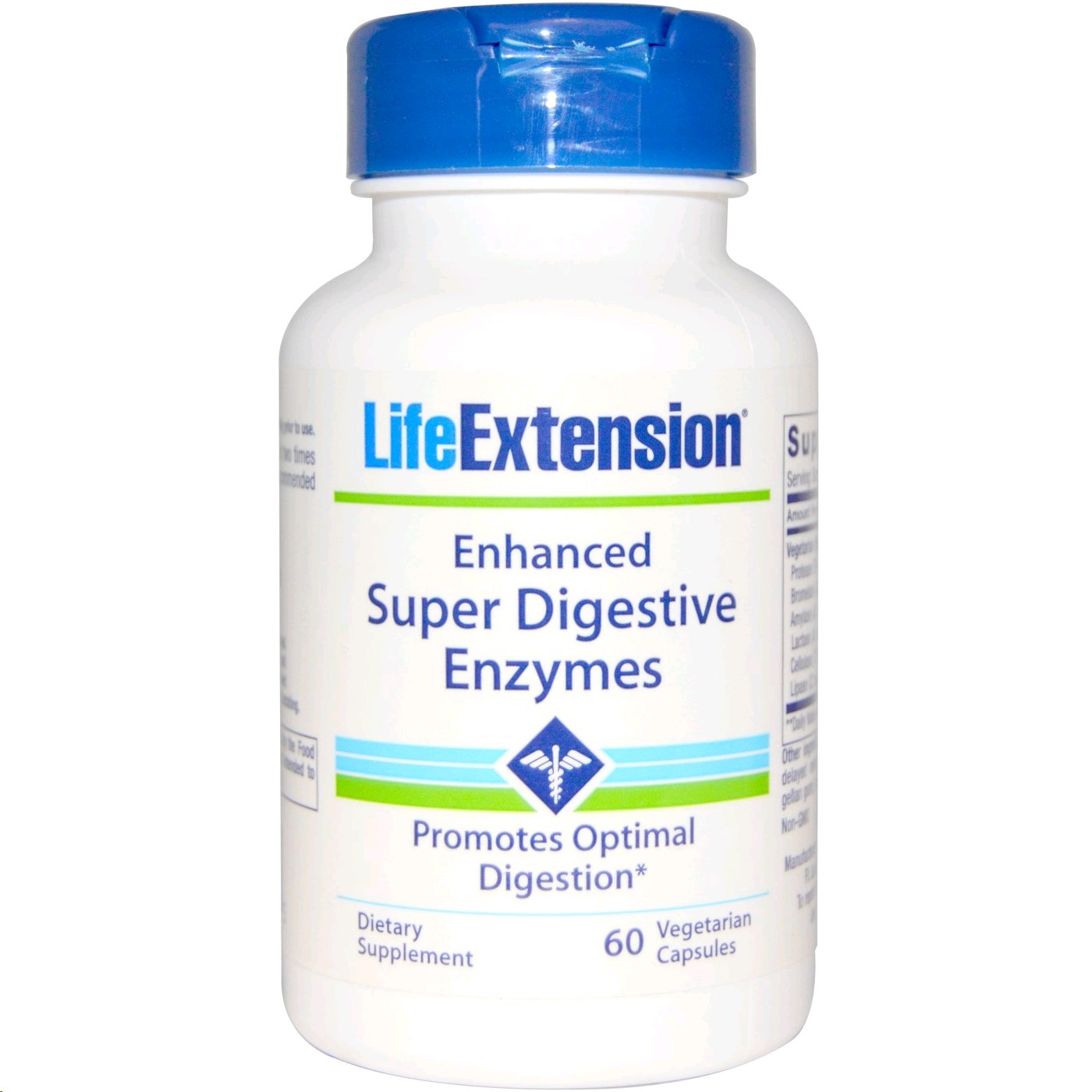 LIFE EXTENSION DIGESTIVE ENZYMES 100 CAPSULES
