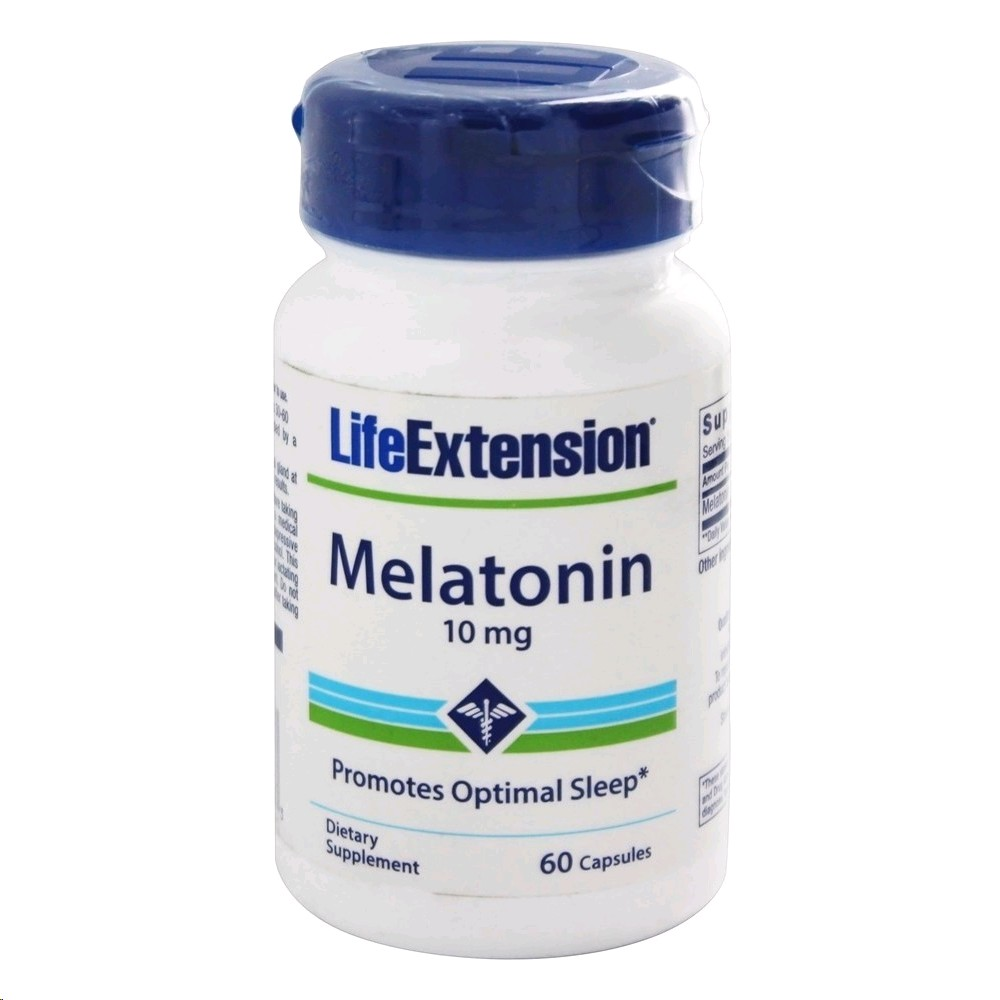 LIFE EXTENSION MELATONINA 10 MG 60 CAPSULES
