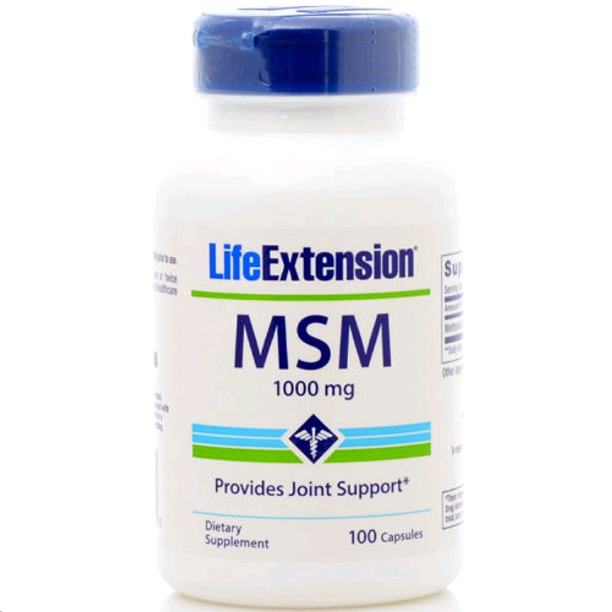 LIFE EXTENSION MSM 1000MG 100 CAPSULES