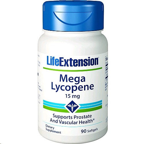 LIFE EXTENSION LYCOPENE 15MG 90 CAPSULES