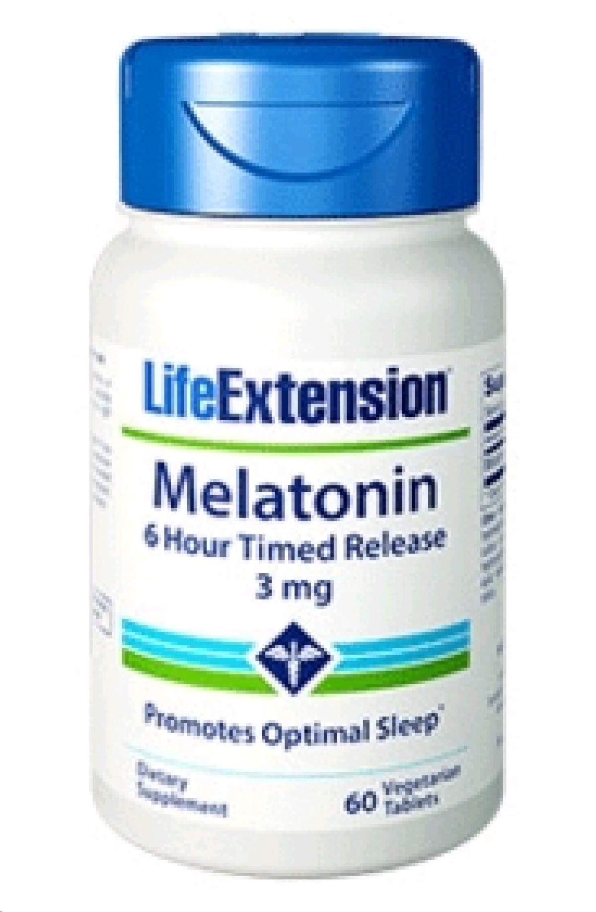 LIFE EXTENSION MELATONINA 3MG TIME RELEASE 60 TABLETES