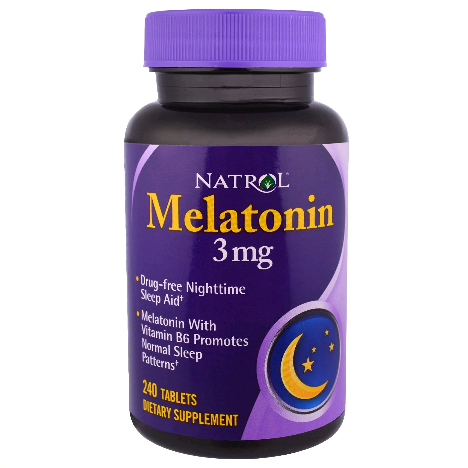 MELATONINA NATROL 3 MG AMB VITAMINA B6 240 COMPRIMITS