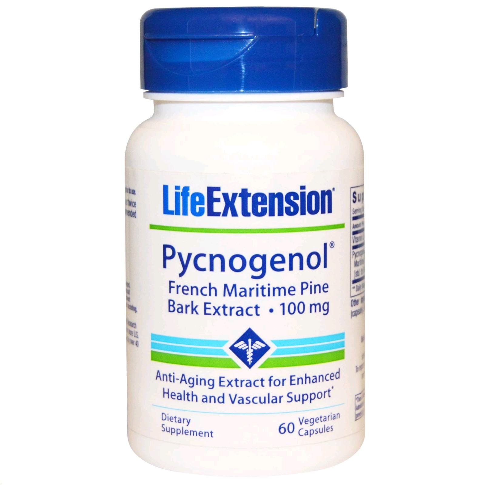 LIFE EXTENSION PYCNOGENOL 100MG 60 COMPRIMITS