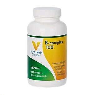 THE VITAMIN SHOPPE B COMPLEX 100MG 100 CAPSULES