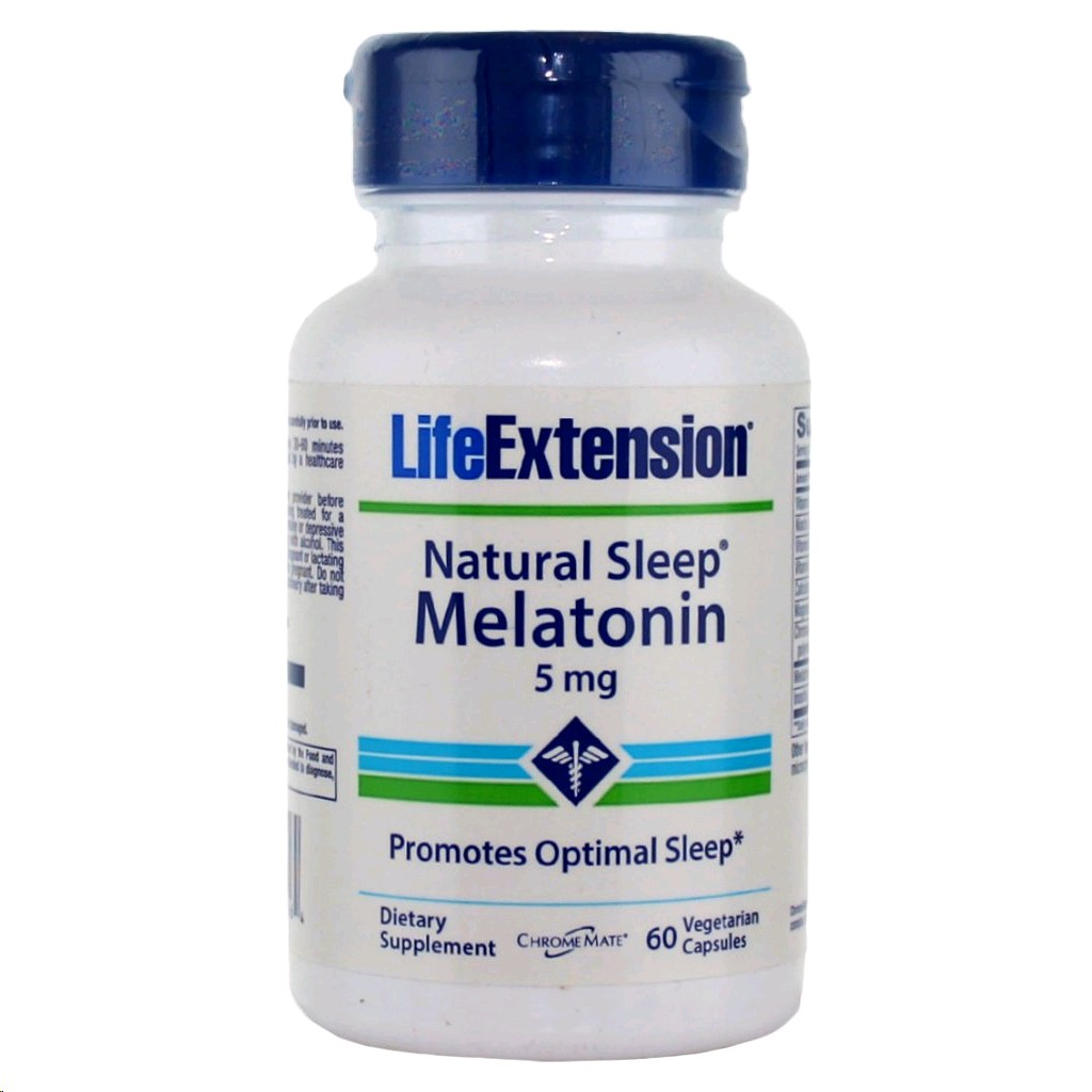 LIFE EXTENSION MELATONINA 5MG 60 CAPSULES