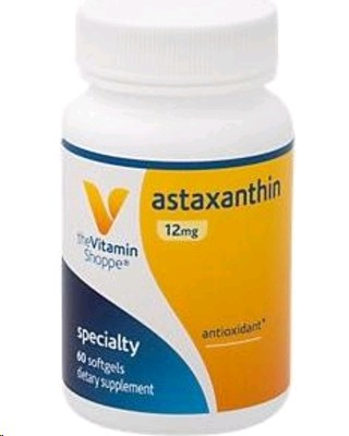 THE VITAMIN SHOPPE ASTAXANTHIN 60 CAPSULAS BLANDAS