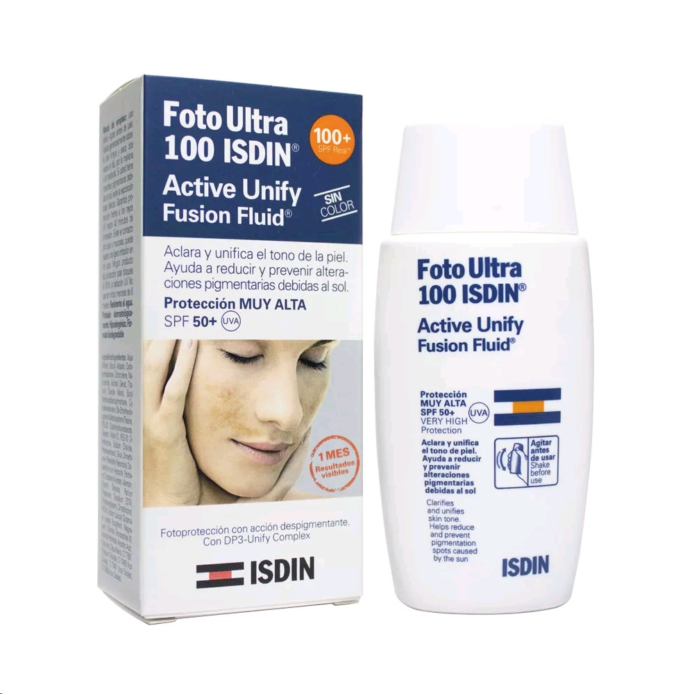ISDIN FOTOULTRA 100 ACTIVE UNIFY SPF-50+ 50ML