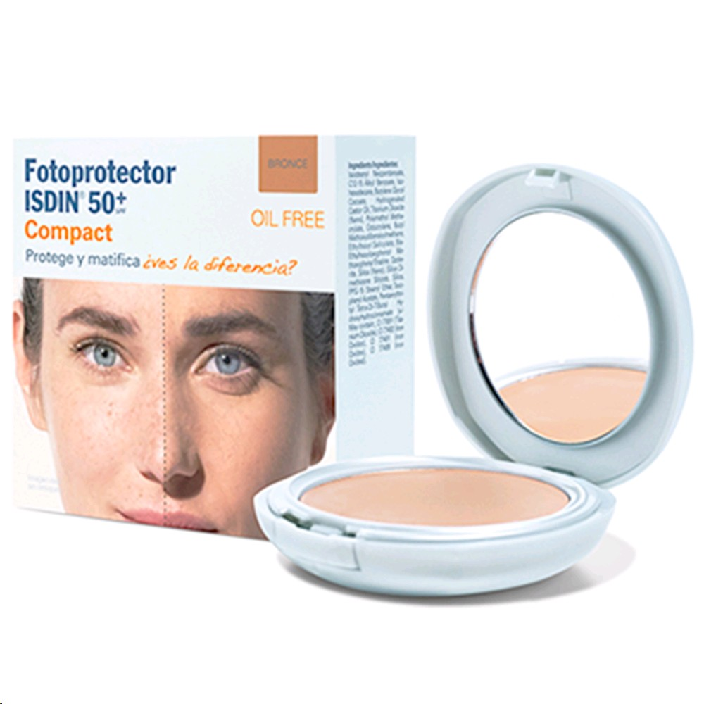 ISDIN FOTOPROTECTOR COMPACT SPF-50 BRONCE