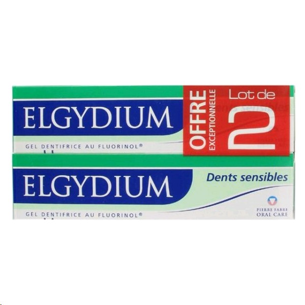 ELGYDIUM PASTA DENTRIFICA SENSIBLE 75ML X2