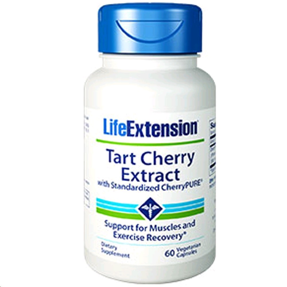 LIFE EXTENSION SUPER TART CHERRY WITH CHERRY PURE 60 PERLES