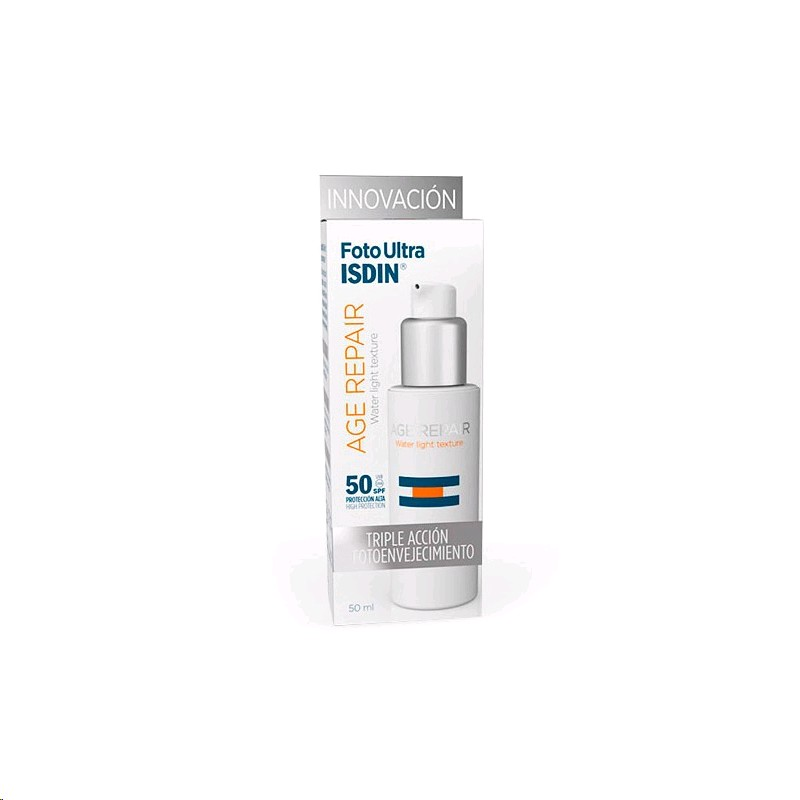ISDIN FOTOULTRA AGE REPAIR WATER LIGHT SPF-50+ 50ML